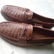 Туфли кожаные мужские фото
