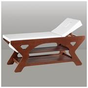 Деревянный массажный стол фото