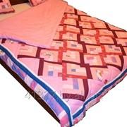 Пошив лоскутного одеяла фото