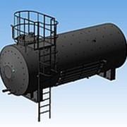 Резервуар стальной горизонтальный фото