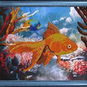 Наборы для вышивания бисером Рыбка фото