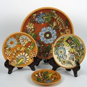 Декоративные тарелки фото