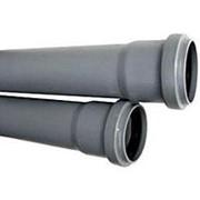 Труба канализационная д110 L-1000мм /10/ фото
