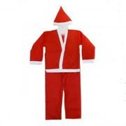 Костюм Санта Клауса с длинной шубой, р. 46-50 фото