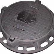 Люк канализационный газовый типа «ДУ-500» фото