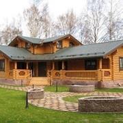 Проект дома из дерева Д0054 фото