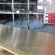 Лист латунный ЛС59-1 10х600х1500 мм фото