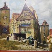 Otto Hunte. Rothenburg. фото