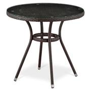 Круглый стол из ротанга Ивейн фото