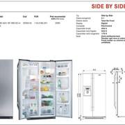 Холодильник Side by Side / 75 фото