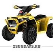 Детский квадроцикл на аккумуляторе Ready MB116 желтый фото