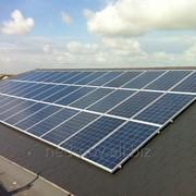Сонячна електростанція фото