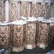 Элементы иконостаса (ясень, дуб, орех), мебель церковная фото