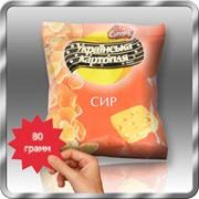 Картофельные снеки со вкусом сыра 80 грамм
