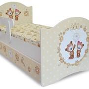 Кровать детская классик серии Мишки фото