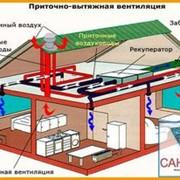 Система вентиляции. Проект, монтаж, обслуживание. фото
