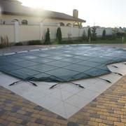 Защитное накрытие для бассейна фото