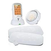 Радио-няня Ramili Baby с расширенным монитором дыхания RA300SP2 (звук, термометр, ночник, колыбельные мелодии, монитор дыхания) фото
