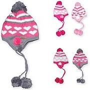 Шапка зимняя вязанная, зимняя шапка для девочек фото