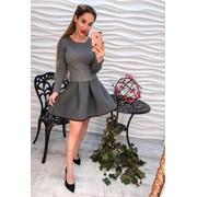 Женский оригинальный костюм, кофта и юбка фото