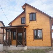 Дом жилой из бруса фото