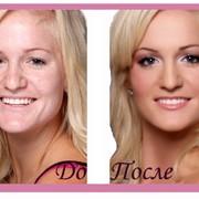 Бесконтактный макияж фото