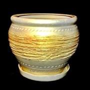 """Горшок для цветов из керамики ручной работы """"Руслан"""" фото"""