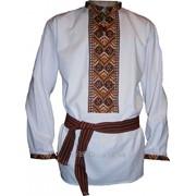 Мужская рубашка - ручная вышивка (00121) фото