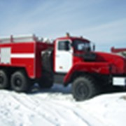 Машины пожарные на шасси Урал-5557 АЦП 6/3-40_пожарные автоцистерны фото