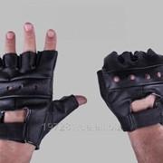 Перчатки кожаные тактические Biker Mil-tec XXL фото