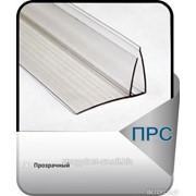 F-пристенный соединительный профиль 4-6мм прозрачный фото