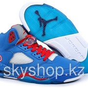 Кроссовки Nike Air Jordan 5 V Retro Captain America 40-47 Код JV07 фото
