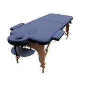 Двухсекционный деревянный массажный стол MIA фото