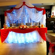 Украшение зала на свадьбу Витебск фото