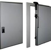 Изготовление распашных, откатных холодильных дверей фото