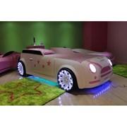 Детская кровать машина - Mini Cooper фото