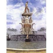 Изготовление и монтаж уличных фонтанов любой сложности фото