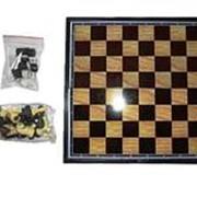 Игра Шашки, шахматы и нарды 30*30см магнит/48/ фото