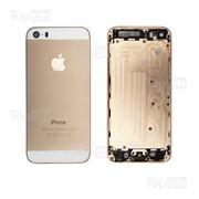 Задняя панель для смартфона Apple iPhone 5S gold фото