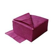 Салфетки LIME 1-сл, 33*33 см, 400 шт, бордо фото