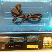 Весы торговые электронные CRYSTAL 40 кг. фото