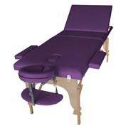 Складной массажный стол SOL производитель ART of Choice. Деревянный переносной массажный стол. Косметологическая кушетка раскладная SOL. фото