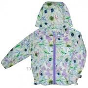 """Куртка для девочек """"Акварель"""" (Весна-Осень) фото"""