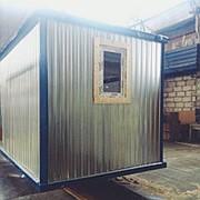 Блок-контейнер металлический-строительный фото