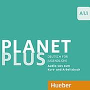 Josef Alberti, Gabriele Kopp, Siegfried Buttner Planet Plus A1.1 Audio-CDs (2) zum Kursbuch und Audio-CD zum Arbeitsbuch фото