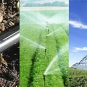 Строительство систем гидросистем микроорошения, проектирование, монтаж систем полива фото