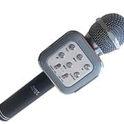 Микрофон беспроводной WS-1818 с Bluetooth (Серебряный) фото
