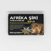 Капсулы для повышения потенции Afrika Siri Gold Африканский лев фото