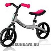 Беговел Globber Go Bike серо-красный фото