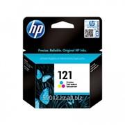 Картридж HP CC643HE цветной № 121 фото